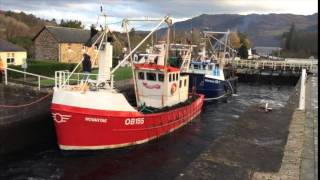 Download The Caledonian Canals Fort Augustus Scotland Nov 2014 Video