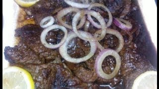 Download How to Cook Pinoy Bistek (Filipino Beef Steak) Video