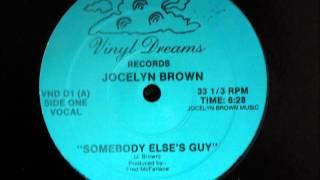 Download Jocelyn Brown - Somebody Else´s Guy Original 12 inch Version 1984. Video