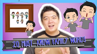Download Learn the Top 20 Must-Know Family Words in Korean Video