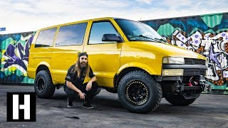 Download Astro Van to Badasstro Van: Our Shreditor Kyle's Daily Gets the Safari Treatment Video