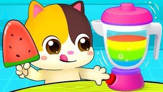 Download Rainbow Ice Pop - Colors Song | Vegetables Song | Learn Colors | Nursery Rhymes | Kids Songs|BabyBus Video