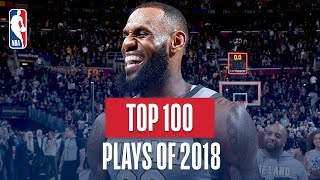 Download NBA's Top 100 Plays of 2018 Video