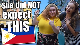 Download SHE DIDN'T EXPECT THIS IN THE PHILIPPINES! EVE'S FIRST REACTION TO THE PHILIPPINES! Video