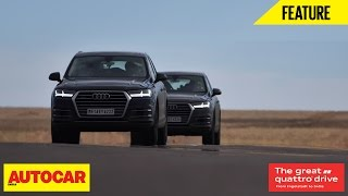 Download Great Quattro Drive | Germany To India | Episode 02 | Autocar India Video