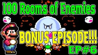 Download BONUS EPISODE!   100 Rooms of Enemies EP#6   Mario World Rom Hack Video