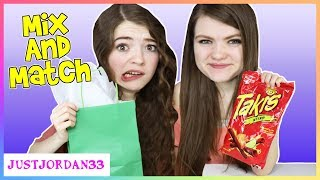 Download Mix and Match Weird Food Combination Challenge / JustJordan33 Video