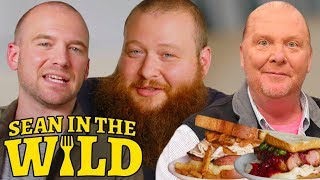 Download Action Bronson and Sean Evans Have a Sandwich Showdown, Judged by Mario Batali | Sean in the Wild Video