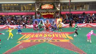 Download Power Rangers LIVE at the Macy's Thanksgiving Day Parade! Video