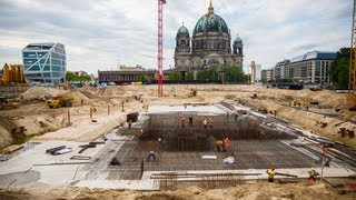 Download Berlin Schloss Wiederaufbau Video