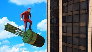 Download TRICK TO SURVIVE ANY FALL! (GTA 5 Funny Moments) Video