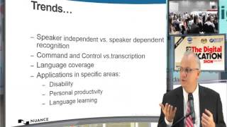 Download Trends in Speech Recognition for Education - Nuance Communications Video
