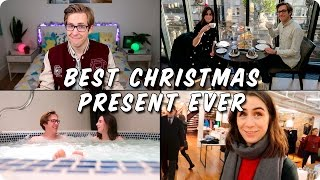 Download Giving Dodie the Best Christmas Present Ever | Evan Edinger & Dodie Clark #ad Video