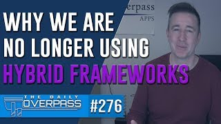 Download Why we are no longer using the Ionic Framework Video