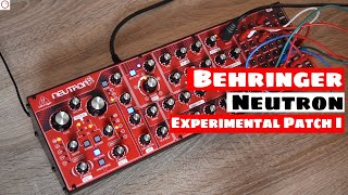 Download Behringer Neutron Synthesizer (Prototype) - Experimental Patch I Video