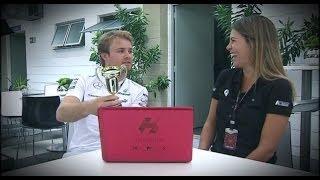 Download Rosberg, coronado campeón del 'Juego Imposible' Video
