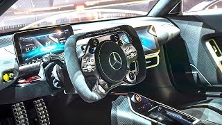 Download Mercedes AMG Project One INTERIOR Video In Detail New AMG P1 Interior CARJAM TV HD Video