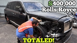 Download I Found a $400,000 Rolls Royce Cullinan at Salvage Auction! It should be SAVED! Video