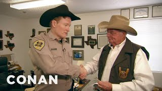 Download Conan Becomes A Texas Deputy, Part 1 Video