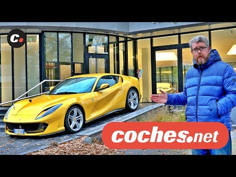 Ferrari 812 Superfast | De Amsterdam a Andorra | Prueba / Test /Review en español | coches.net