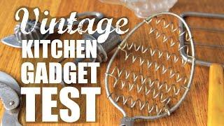 Download VINTAGE KITCHEN GADGET TEST - Do They Work? Video