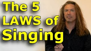 Download Singing Lessons For Beginners - The 5 Laws Of Singing - Learn Singing with Ken Tamplin - YouTube Video