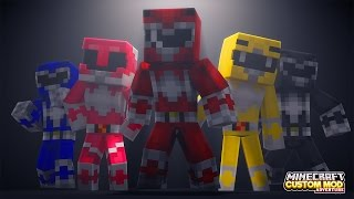 Download Minecraft - HOW TO BECOME A POWER RANGER - Custom Mod Adventure Video