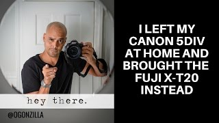 Download I left my Canon 5D Mark IV and brought the Fuji X-T20 instead Video