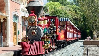 Download [4k] Disneyland Railroad 2017 w/ New Route, Scenery and More! Train Ride Complete Video