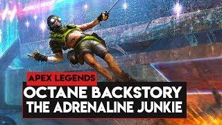 Download Apex Legends: BACKSTORY Of OCTANE! OCTANE The Adrenaline Junkie Daredevil! Video