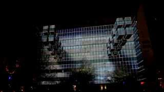 Download 3D Projection Mapping - Afterlight - 'Gridular 3.0' - Glow 2012 Video