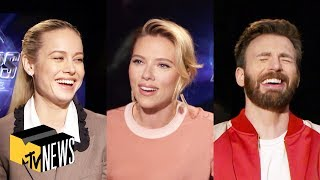 Download 'Avengers: Endgame' Cast Play Most Likely To | MTV News Video