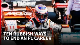 Download 10 rubbish ways to end an F1 career Video
