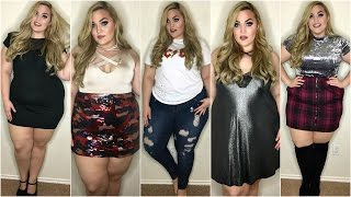 Download HUGE Clothing Haul + Try-On ♡ BooHoo, Torrid, Pacsun & More   January 2017 Video