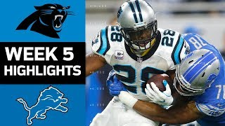 Download Panthers vs. Lions | NFL Week 5 Game Highlights Video