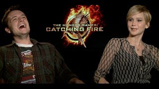 Download Hunger Games Catching Fire interviews - Lawrence, Hutcherson, Hemsworth, Claflin, Malone, Banks Video