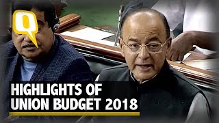 Download Union Budget 2018: Key Highlights at a Glance | The Quint Video