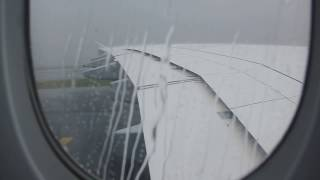 Download A380 Breathtaking Landing During Heavy Storm HD Video