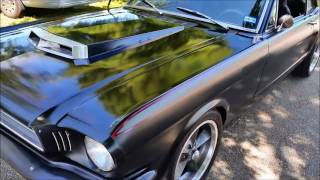 Download 1966 Mustang Coupe Restomod - ″Mad Max″ - John Charles - Haigler Motors Video