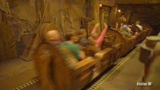 Download [4K] Seven Dwarfs Mine Train Roller Coaster Ride POV - Magic Kingdom 2016 Video