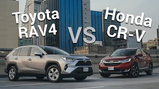 Download Honda CR-V VS Toyota RAV4 - Las camionetas pioneras se enfrentan de nuevo | Autocosmos Video