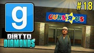 Download Garry's Mod DarkRP   Dirt To Diamonds: WELCOME TO GUNS R US! [18] Video