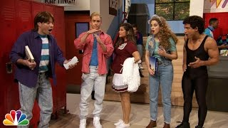 Download Jimmy Fallon Went to Bayside High with ″Saved By The Bell″ Cast Video