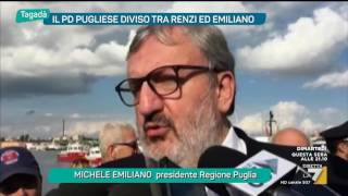 Download Tagadà - Emiliano contro il Governo sui 50mln per l'Ilva (Puntata 29/11/2016) Video