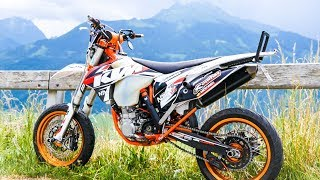 Download Supermoto is Amazing! Exploring ft. Querly | Supermoto Lifestyle Video
