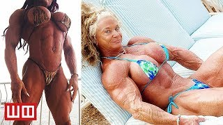 Download Most Extreme Female Bodybuilders...That Haven't Been Morphed in Photoshop Video