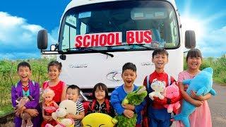 Download The Wheels on the Bus | Nursery Rhymes & Kids Songs From SuperHero Kids Video