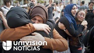 Download Video: Las madres y los vecinos de los sospechosos del atentado en Barcelona rechazan el terrorismo Video