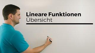 Download Lineare Funktionen, Übersicht mit fast allem;), Geraden | Mathe by Daniel Jung Video