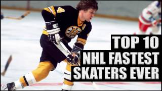 Download Top 10 NHL Fastest Skaters Ever Video